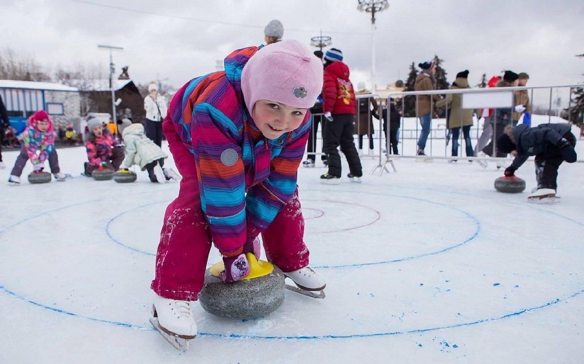 День зимних видов спорта наВДНХ 2017