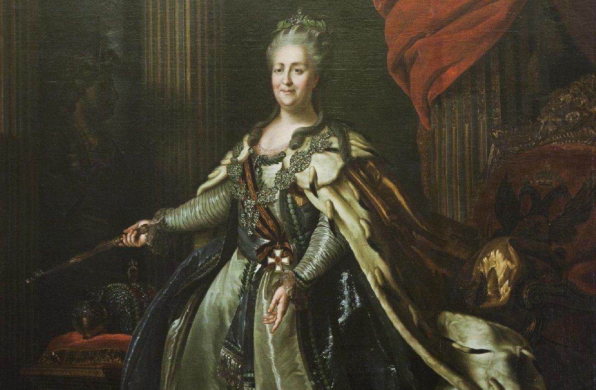 Выставка «Екатерина II. Золотой век Российской империи»