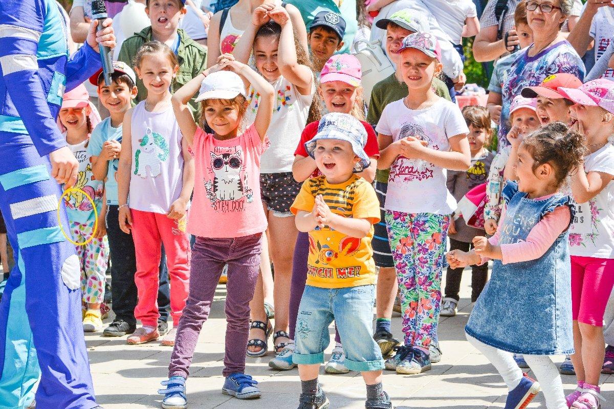 День защиты детей вВыставочных залах Москвы 2020