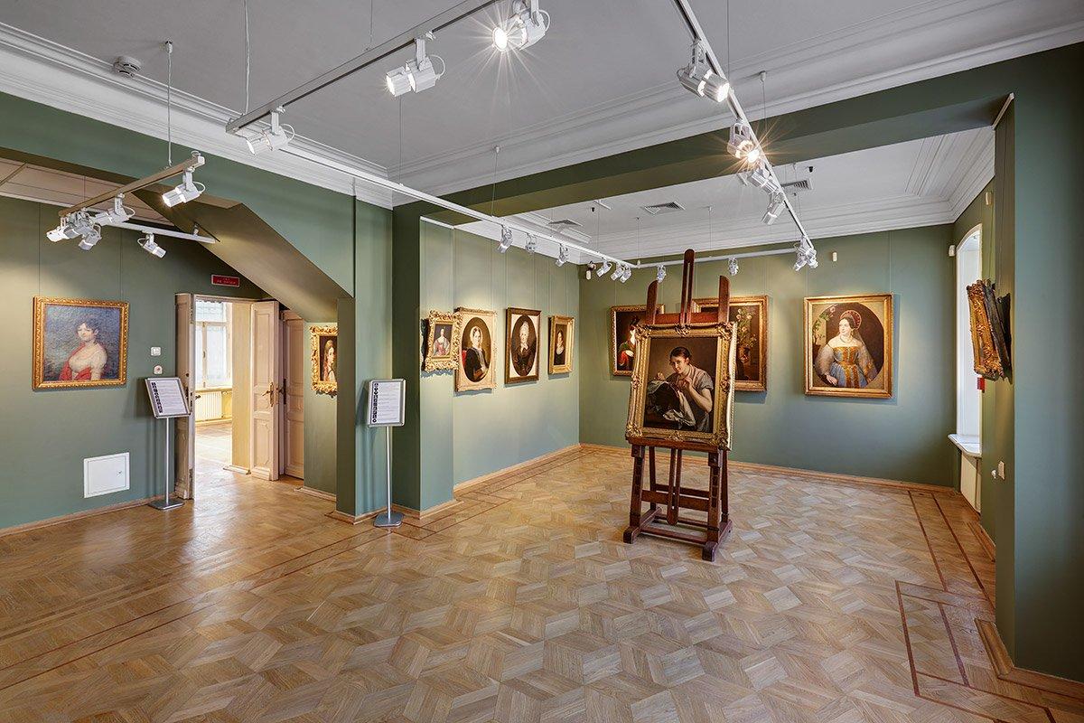 Музей В.А. Тропинина имосковских художников его времени