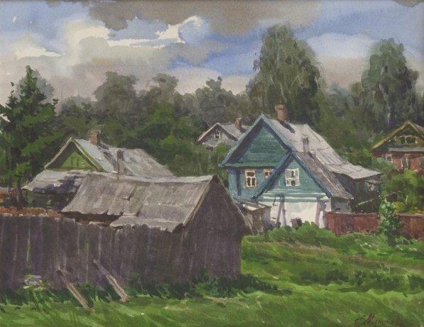 Выставка «Елена Миронова. Очарована, околдована »