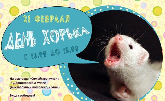 «День хорька» вДарвиновском музее