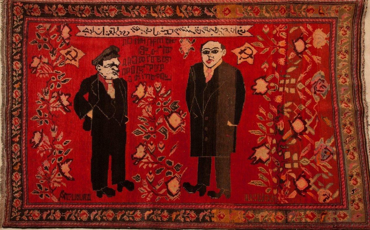 Выставка «Эхо советского Азербайджана. Ковер. Вышивка. Плакат»