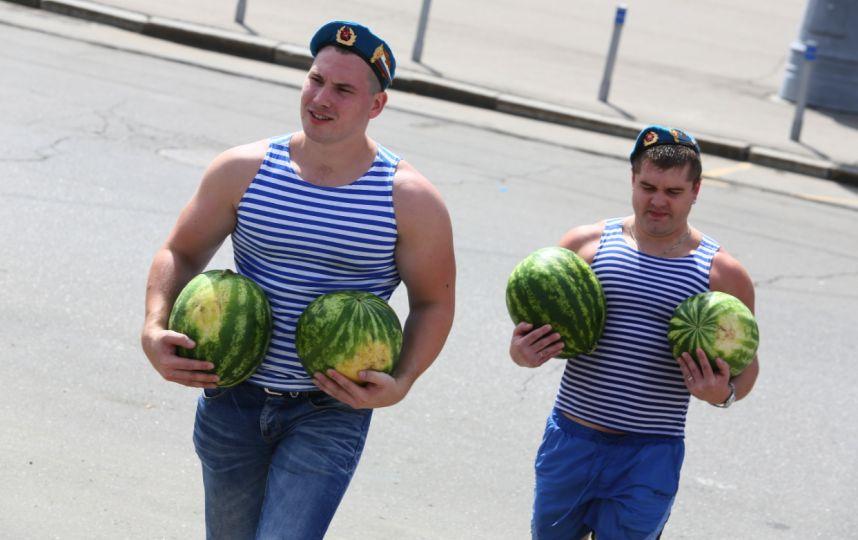 День ВДВ вПарке Горького