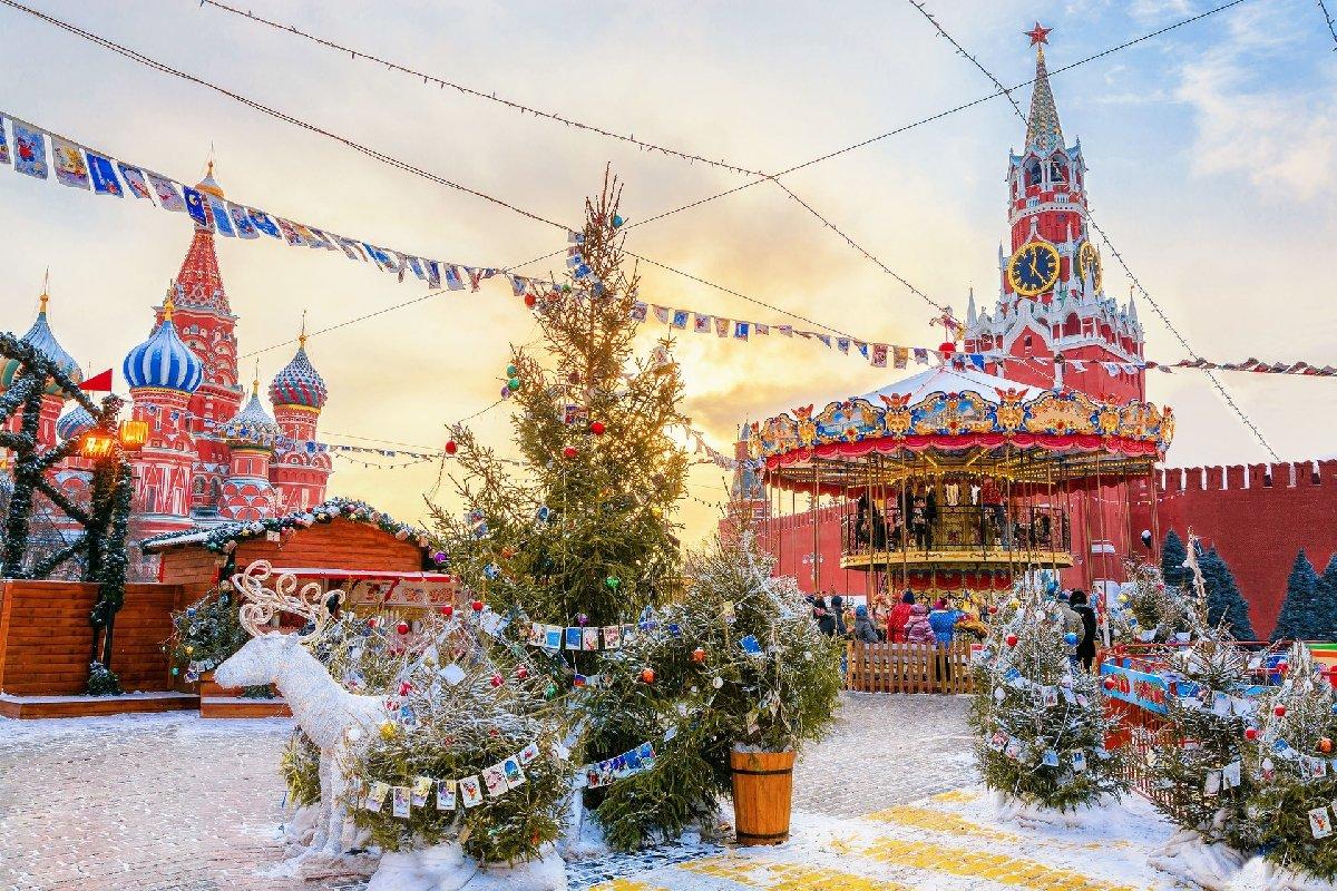 Новогодняя обзорная экскурсия поМоскве