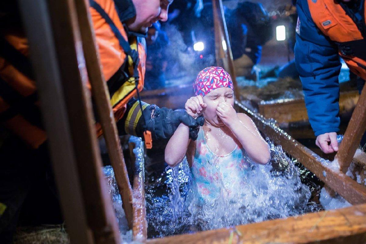 Крещенские купания впарках Москвы 2018