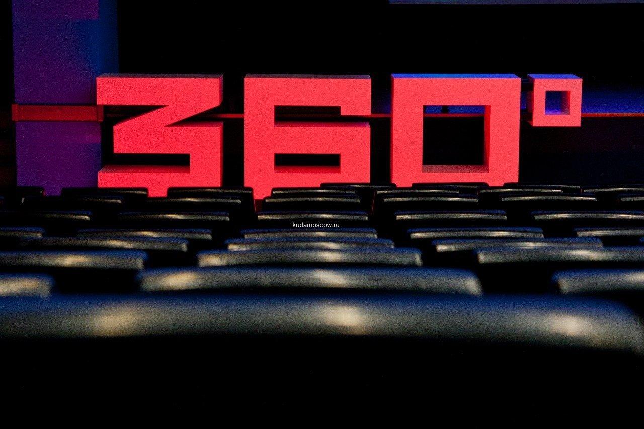 Фестиваль кино онауке итехнологиях 360° 2016