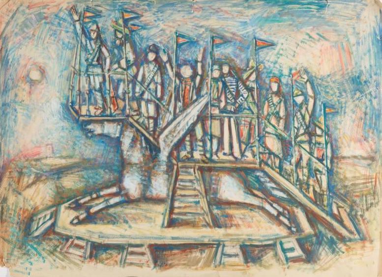 Выставка «Александр Тышлер. Игра илицедейство»