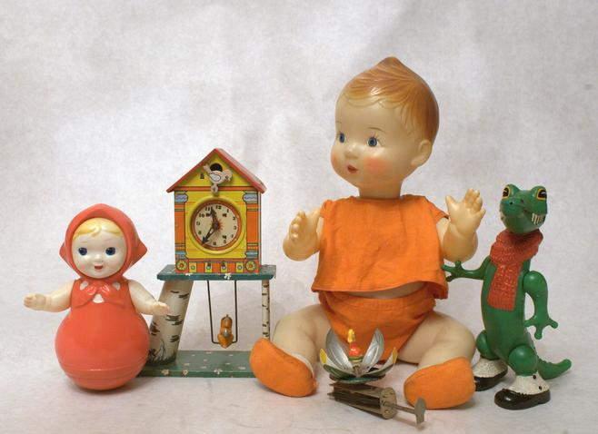 Выставка «Все лучшее– детям. Игрушки 1950–1980 годов изколлекции Сергея Романова»