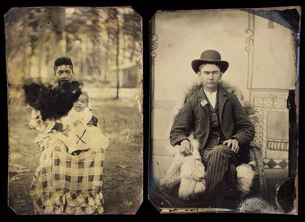 Выставка «Больше, чем фотография: Американский тинтайп»