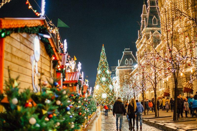 Топ-10 лучших событий вновогодние праздники вМоскве 2019