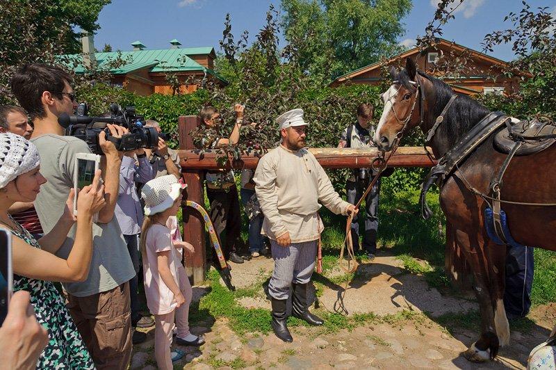 День лошади вКоломенском 2016