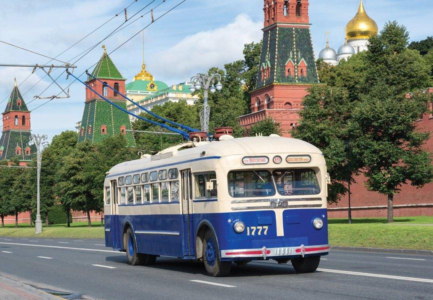 Праздник московского троллейбуса 2015