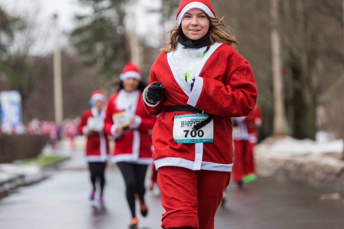 Благотворительный забег Дедов Морозов 2016