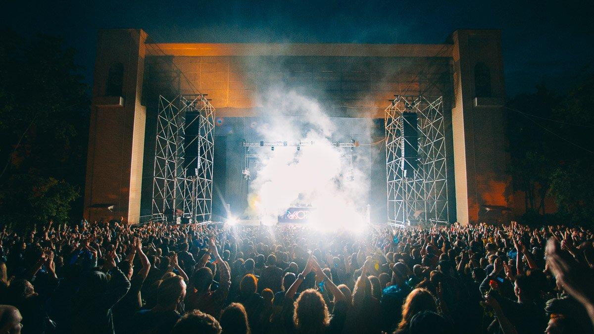 Музыкальный фестиваль «Park Live» 2018