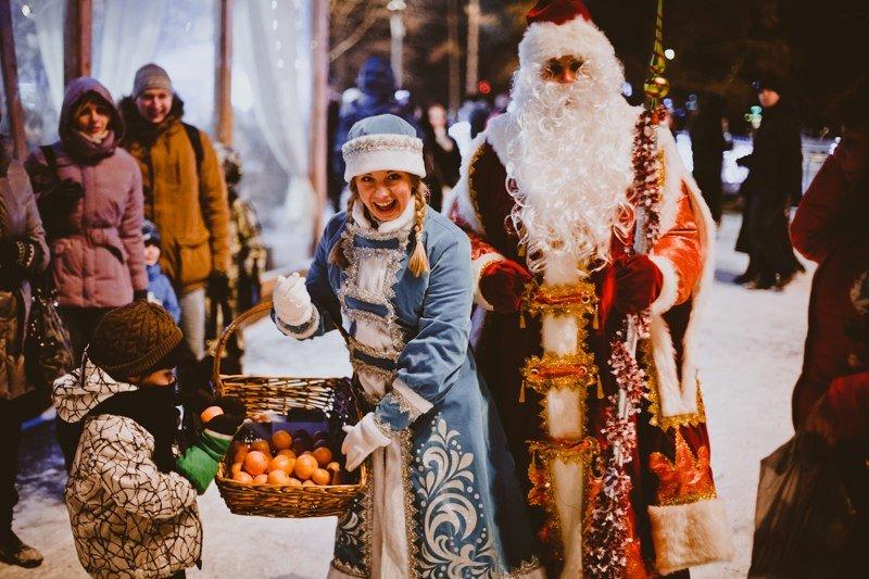 Новогодняя ночь впарке «Сокольники» 2017