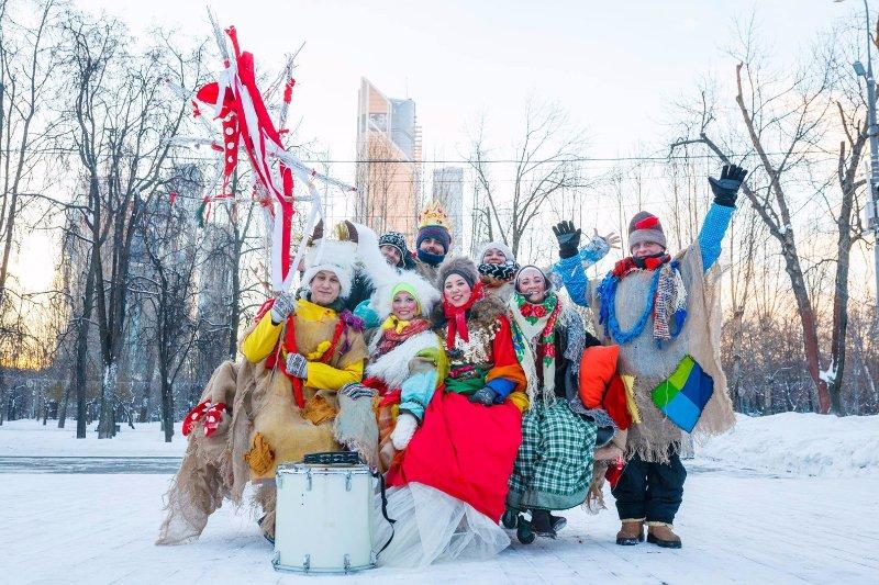 Рождество впарках Москвы 2018