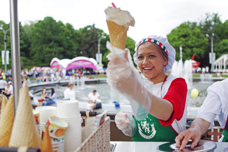 Фестиваль мороженого исладостей «Лакомка» 2017