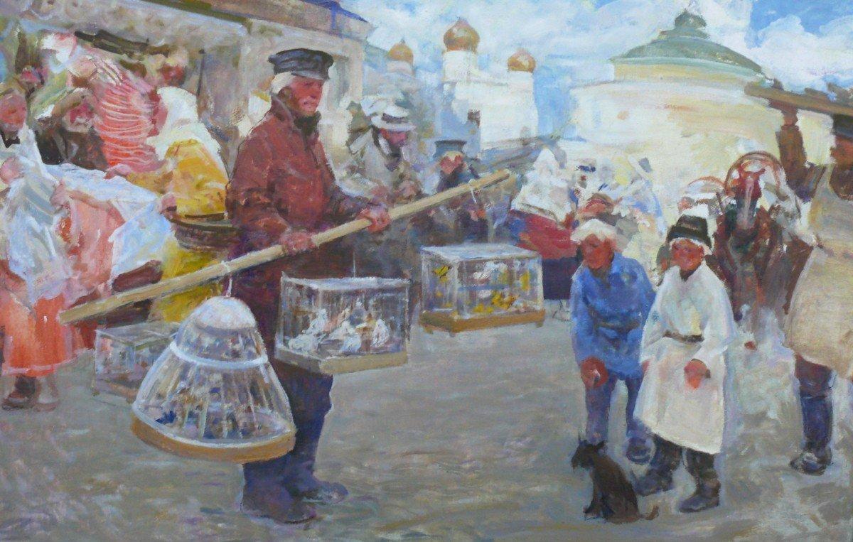 Выставка «О России широкой кистью»