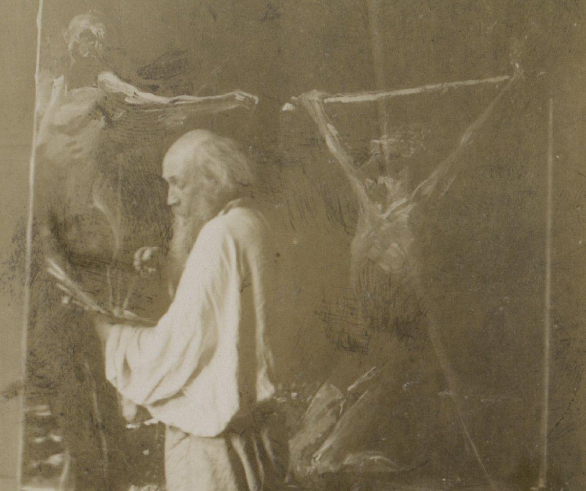 Выставка «Любящий Вас Николай Ге. К190–летию содня рождения Н.Н. Ге»