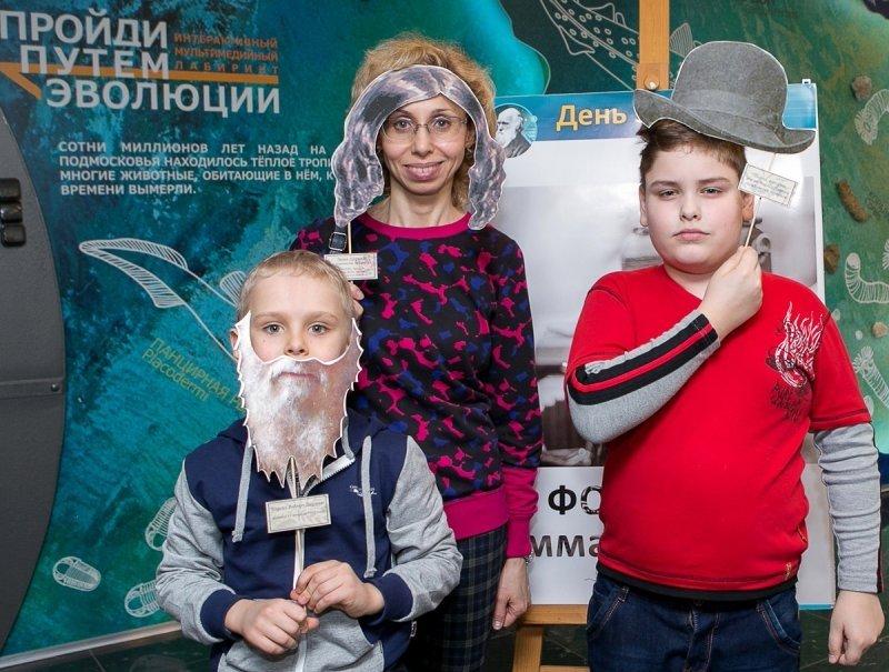 День эволюции вДарвиновском музее 2019