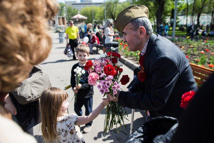 День Победы вПарке Горького иМУЗЕОНЕ 2016