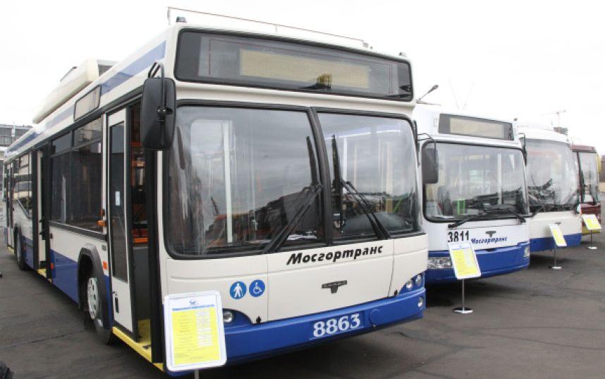 Юбилейный парад автобусов