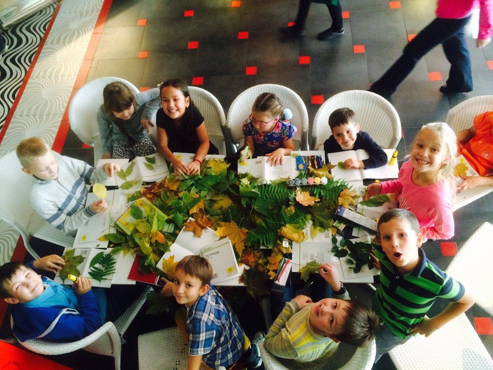 Мастер классы в ресторанах москвы для детей